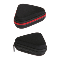 1pc Portable Dustproof Zipper Fidget Spinner Earphone Box Case for Hand Spinner Toys Triangle EVA Storage Bag Carry Case