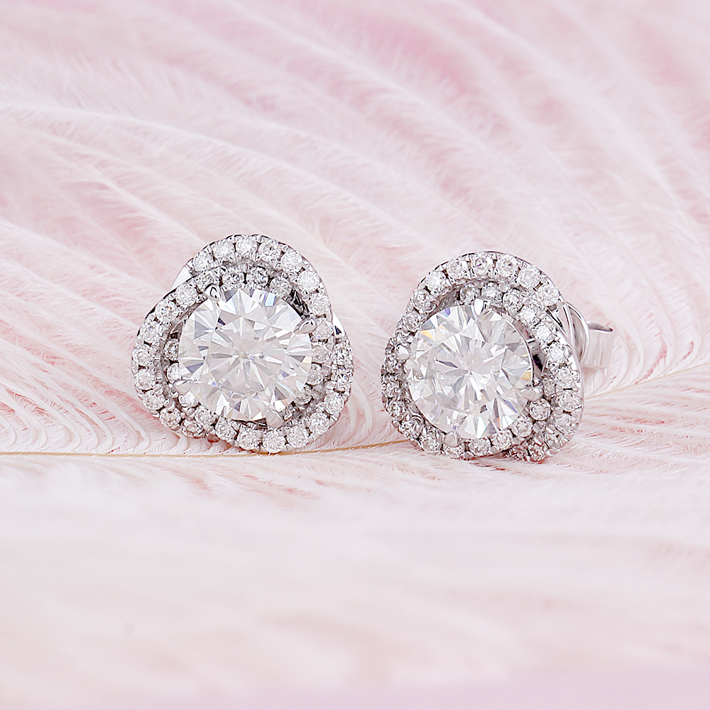 flower stud earrings (3)