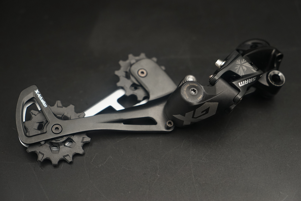 Black SRAM GX Eagle Rear Derailleur 12 Speed