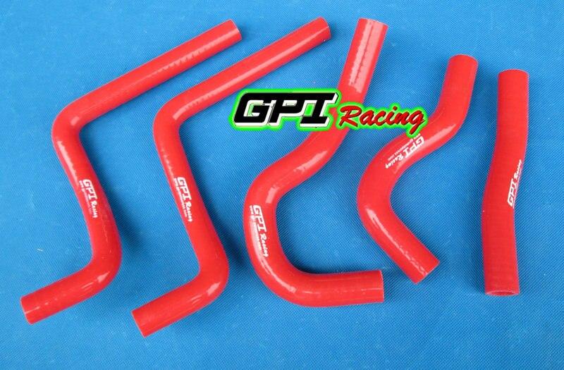 For Honda CR125R CR125 CR 125 R 2003 2004 03 04 silicone radiator hose WHITE