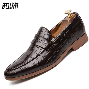 Classic Men Dress Shoes Fringe Decoration Man Loafers Shoes Soft Moccasins Men Flats Driving Shoes High Quality Leather Big Size