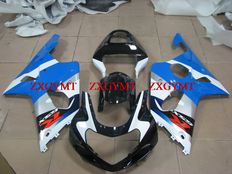 Fairings for GSXR600 GSXR750 GSXR1000 2000 - 2003 K1-2 Abs Fairing GSXR600 GSXR750 GSXR1000 2003 Blue White Black 2002Fairings for GSXR600 GSXR750 GSXR1000 2000 - 2003 K1-2 Abs Fairing GSXR600 GSXR750 GSXR1000 2003 Blue White Black 2002