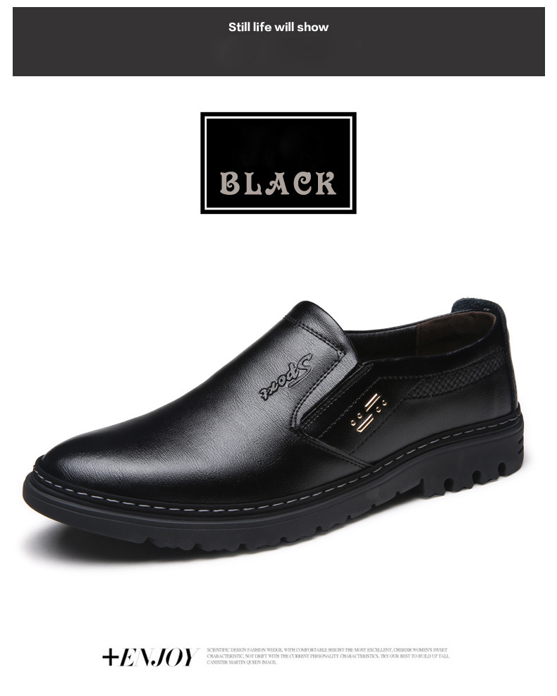 5c638a6c8 NPEZKGC اليدوية جلد أصلي للرجال أحذية ، سبنج الخريف الأعمال أزياء ...