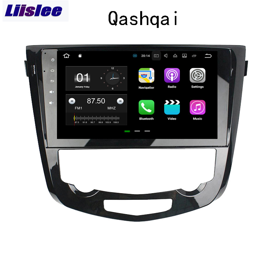 Liislee 2 Din Android Car Navigation GPS For Nissan