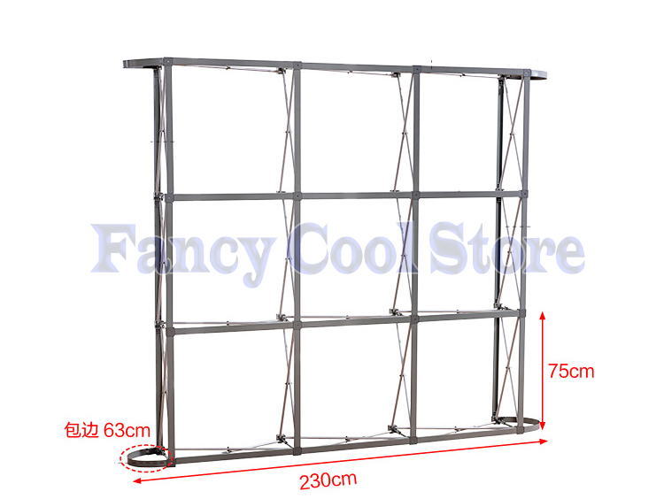 Wedding Flower Wall Stand Aluminum Flower Backdrop Frame Pipe Advertisement Stand