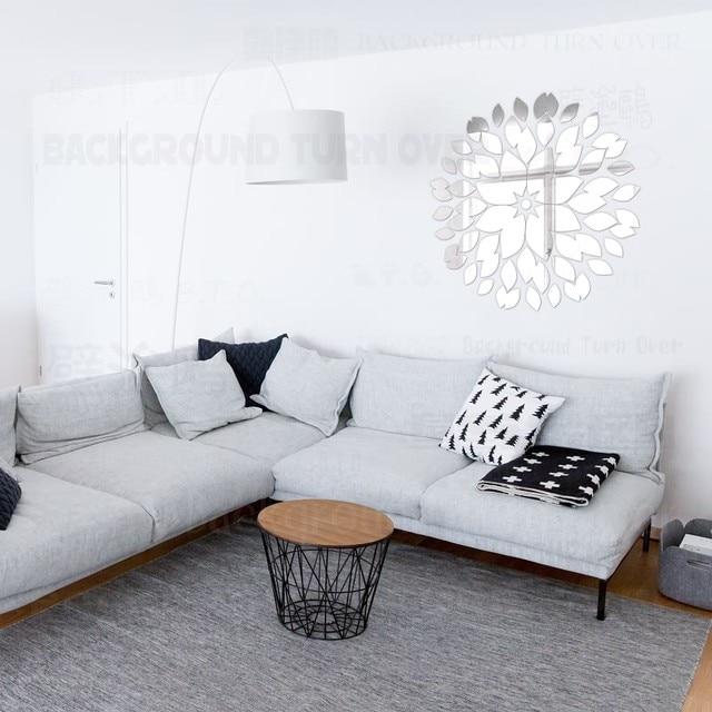 Online Shop Creative Round Flower Petals 48d Acrylic Decorative Amazing 3D Home Interior Design Online Creative
