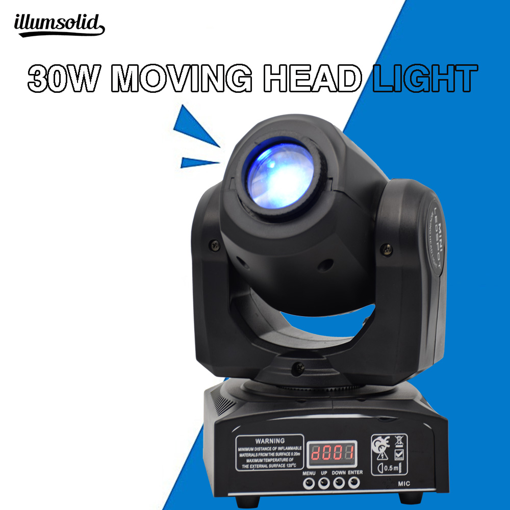 mini led moving head 30w disco light Large stage gobo moving head light