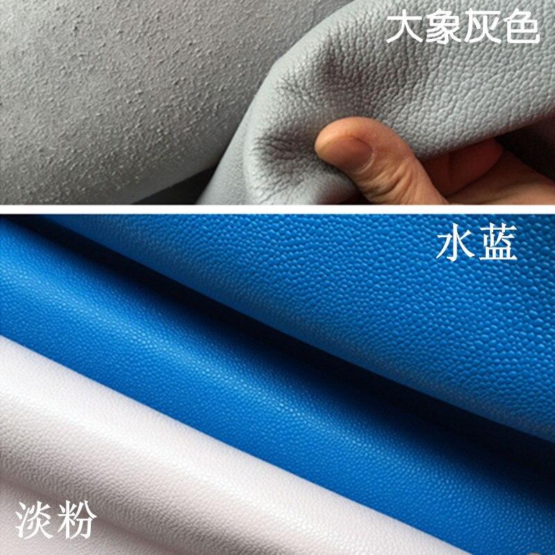Глава Футбол зерна кожаный кожа материал ручной DIY светло-розовый воды синий дополнительно толщиной 1.6 мм