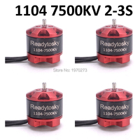 Readytosky 1104 7500KV 2 3S Brushless Motor Engine for ELF 88mm Q90 Mini FPV Racer Racing Drone Spare Parts Accessories