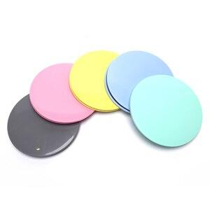 2PCS Fitness Disc Exercise Sliding Plate Gliding Discs Slider For Yoga Gym Core Training Exercise Equipment