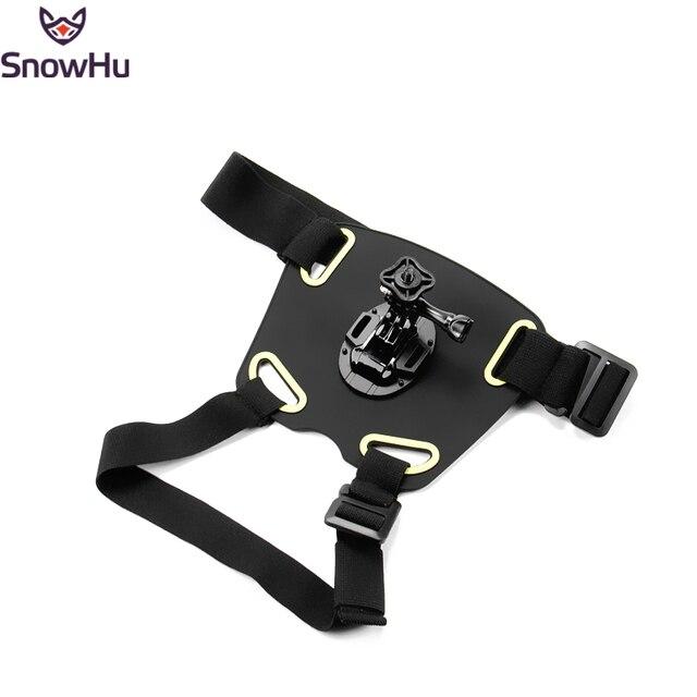 Регулируемый Собака Fetch Грудной Обвязкой Ремень Пояс Крепление для GoPro Hero 4 3 + 3 2 1 Sony Series Спорта Камера GP216