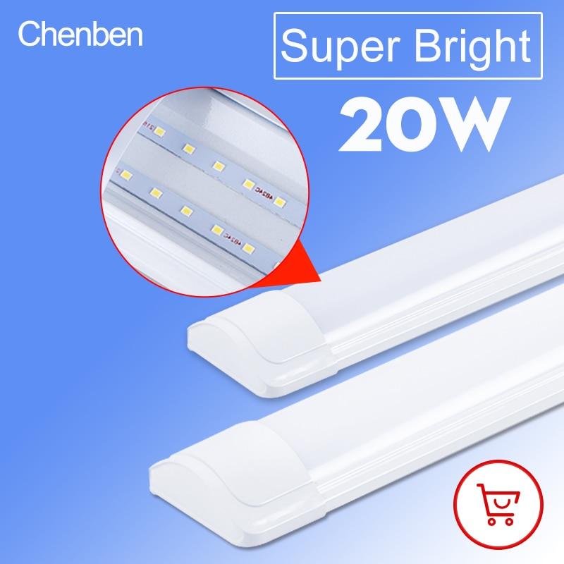 Led צינור אור 220V קיר מנורת Lampada אמפולה קר לבן חם לבן 220V 240V 60CM 2ft led צינור אור לבית מסחרי אור