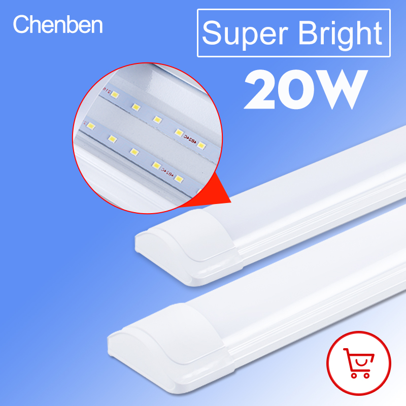 Led チューブライト 220V 壁ランプランパーダアンプルコールドホワイトウォームホワイト 220V 240V 60 センチメートル 2ft led チューブライト家庭用商用光