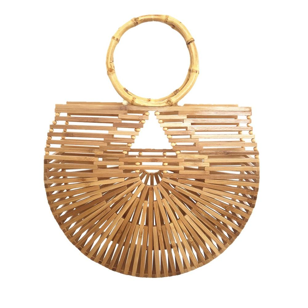 Bamboo Handbags for Women for the Beach 1