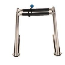 2-Step Stainless Steel Under Platform Slide Mount Boat Boarding Telescoping Ladder Compact and efficient - Telescopic Design 2 3 4 steps stainless steel telescoping ladder deck outboard under platform boarding swim ladder for boat yacht