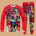 3D Sudaderas Hombre Stephen Curry Jordan Tupac Impreso Sudaderas Streetwear Hip Hop Suéter Para Hombre Chándal Set Trajes de Pista Basculador