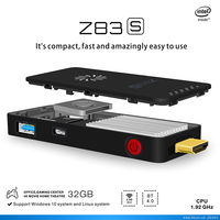 Newest Z83S TV Dongle Intel Support X5 Z8350 Windows10 And Linux OS Mini PC 2GB 32GB