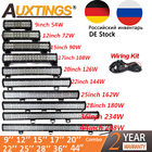 Auxtings 20 inch 126W 12'' 22'' 20'' offroad led light bar 12V 24V Spot Flood led Work Light for Jeep Car 4WD Truck 4x4 SUV ATV