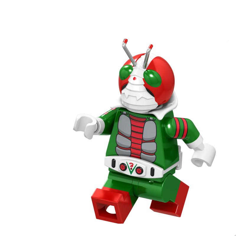 ナルト AnimeUzumaki Kaneki ケン孫悟空レンガ友人ビルディングブロック仮面ライダーロボコップギフトおもちゃ Juguetes