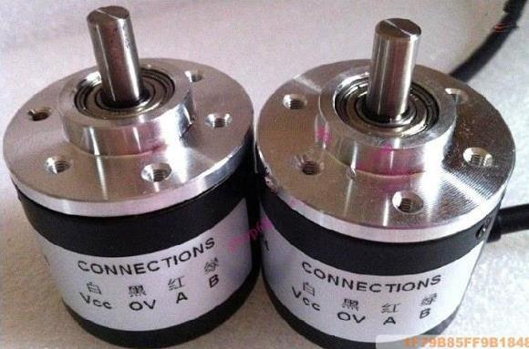 Free Shipping!  1pcx Incremental optical rotary encoder 400 pulse