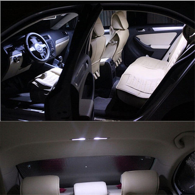 Car LED for Audi Q7 2007 To 2013 canbus  Leds 12v Interior Light Kit Package car styling 16pcs per set Auto Accessories