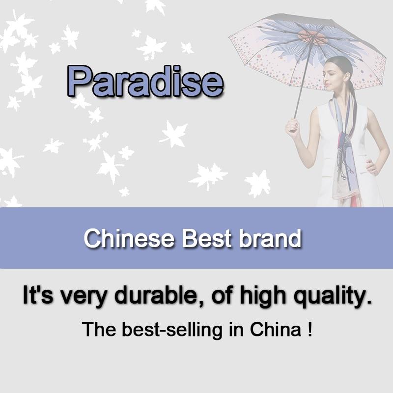 Image 5 - Brand Flower Umbrella For Women Folding Fashion Girl Parasol Sun Portable Strongly Rain Female Sun UV clear Umbrellas Light-in Umbrellas from Home & Garden