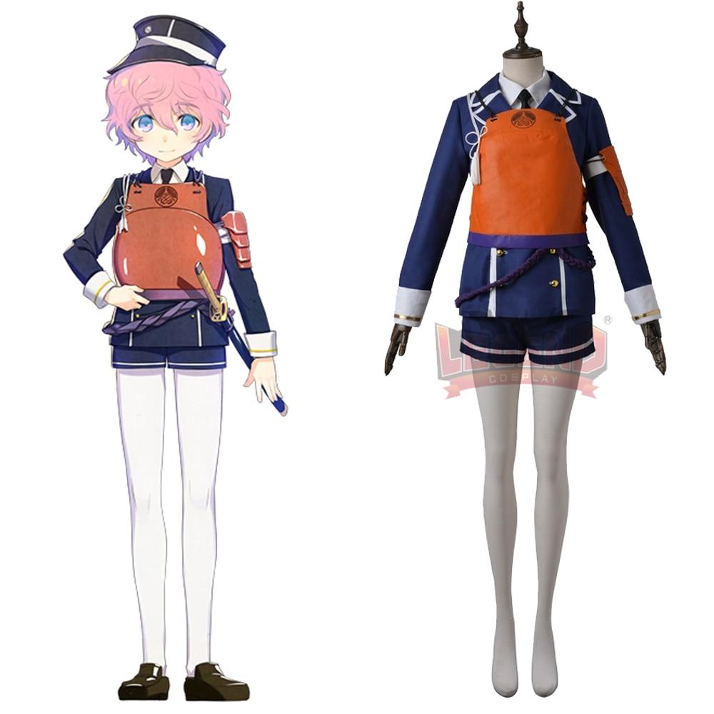 Cosplay legend Touken Ranbu Online Akitatoushirou Cosplay adult costume full set all size custom made