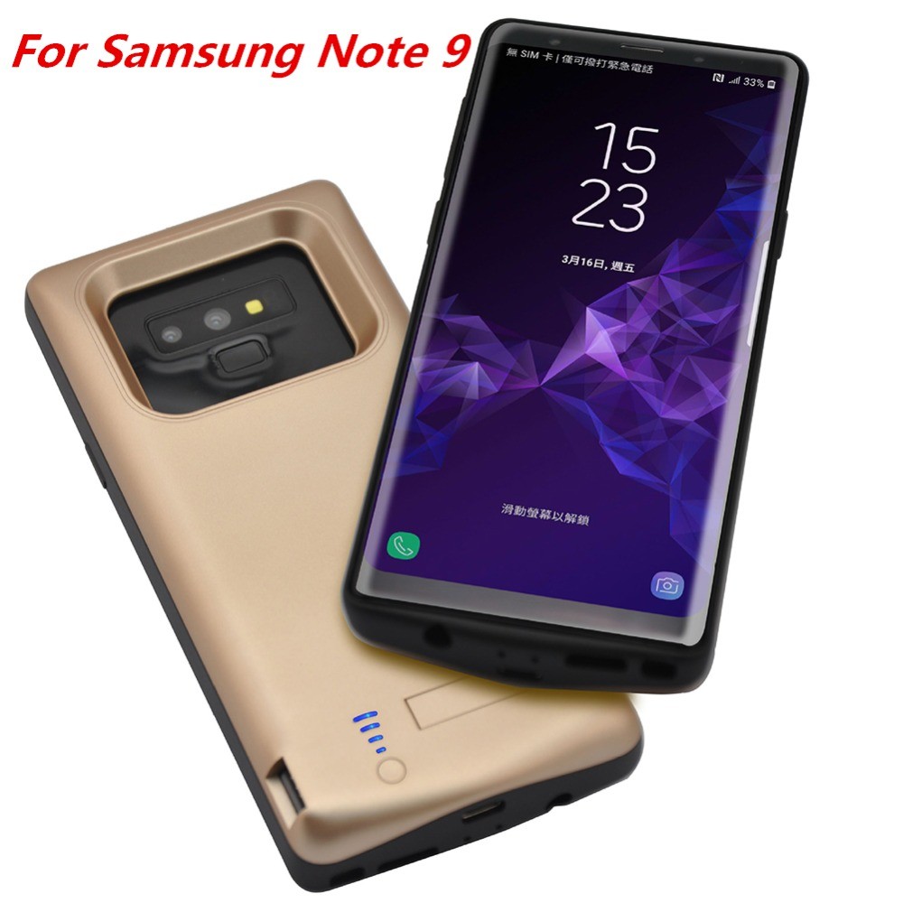 Cellphones & Telecommunications Phone Bags & Cases For Samsung Galaxy Note 9 Battery Charger Case High Capacity 5000mah Power Bank Case External Battery Charging Phone Case Cover