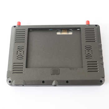 FPV DVR 5.8g transmission HDMI 1024 resolution DVR Dual Receiver 7 inch Built-in Battery FPV Monitor Screen For RC Model