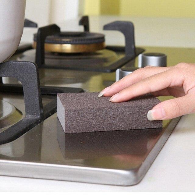 5 sztuk magiczna gąbka gumka bawełna Nano Emery gąbki dla biura łazienka akcesoria kuchenne do czyszczenia naczyń do czyszczenia magiczna gąbka