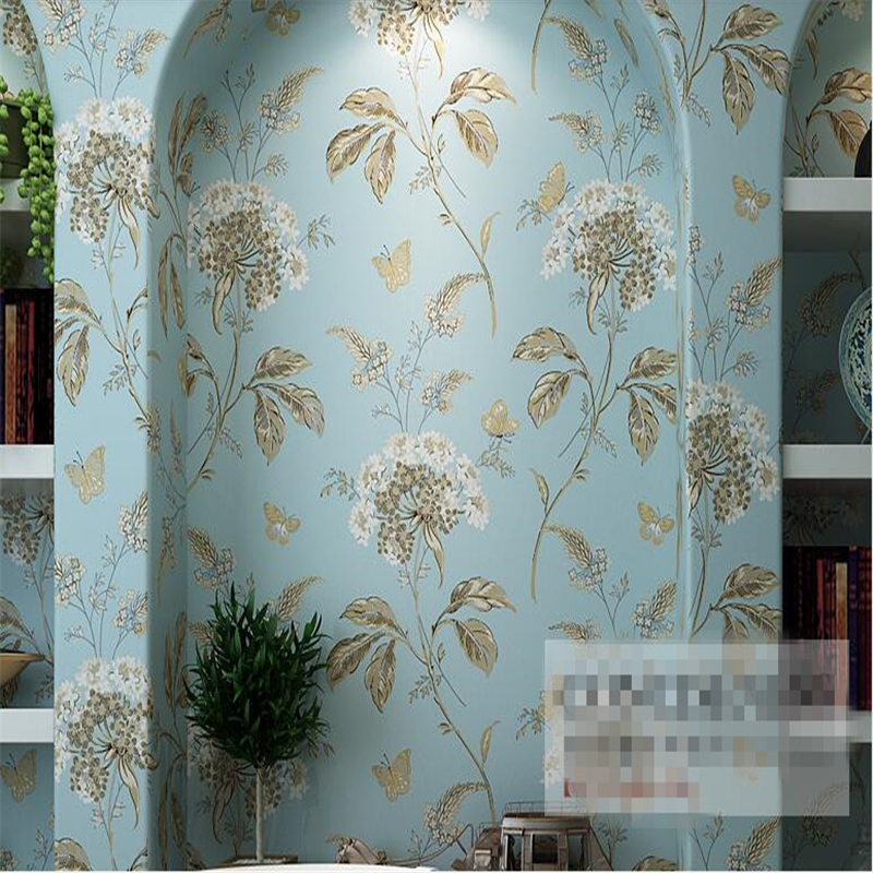 beibehang American National Non wovens Wall paper Vintage Bedroom Bedroom Living Room TV Wallpapers papel de parede 3d wallpaper beibehang mediterranean flower pastoral american personality wall paper bedroom living room background papel de parede wallpaper