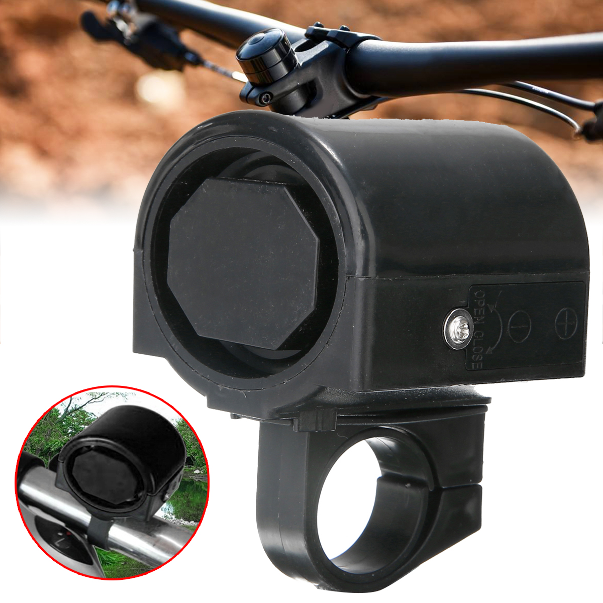 1PC Motorcycle Electronic Loud Air Horn Siren 3V