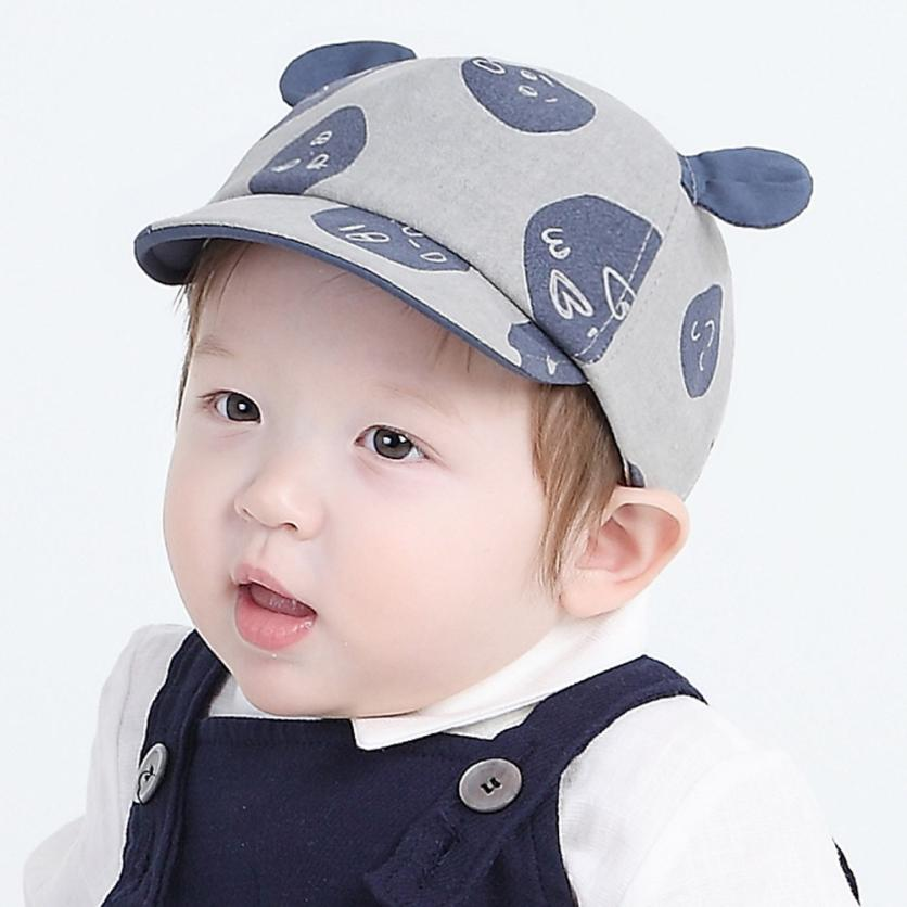 Baby Hat Baby Cap Baby Beanie For Boys Girls Sharp Sun Hat Graffiti Children Hats
