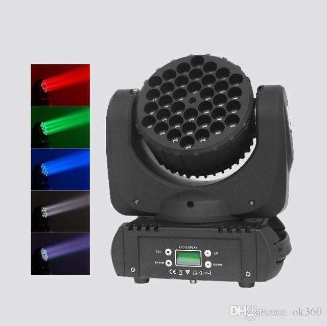 Cree Led Перемещение Головы Луч Света DMX512 Led мыть свет 15DMX Каналы Led Свет Этапа Moving Головной Laster Свет эффект лампы