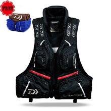 DF-3104 DAIWA Fishing Vest Breathable Life Jacket Buoyancy 80N 120KG Man Outdoors Detachable Fishing Life Jacket Vest Free Gift