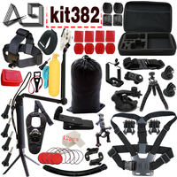 A9 For Gopro Accessories Set For Go Pro Hero 5 4 3 Kit Mount For SJCAM