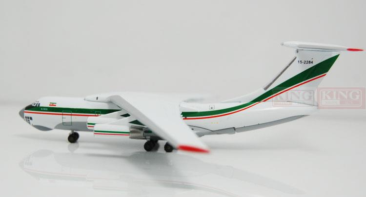 WT4I76012 IL-76D Iran air force 15-2284 1:400 Witty commercial jetliners plane model hobby