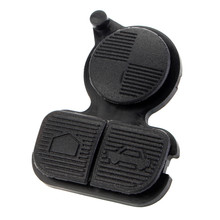 Черный Сменный пульт дистанционного ключа Fob чехол корпус 3 кнопки резиновая накладка для BMW E46 Z3 E36 E38 E39 D20