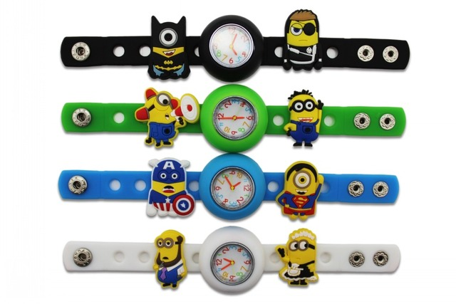 Despicable Me Minions DIY Silicone Wristwatch