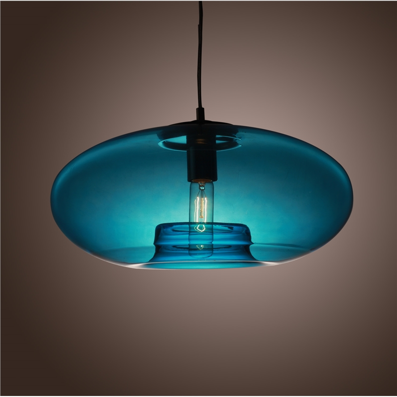 round light lamp contemporary glass pendant light lamp for home