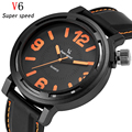 V6 Quartz Watch Men Top Brand Luxury Famous Wrist Watches Fashion Male Clock sports Wrist Watch Hodinky reloj Relogio Masculino
