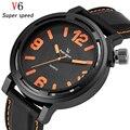 V6 Relógio De Quartzo Homens Top Marca de Luxo Famosos Relógios de Pulso de Moda Relógio Masculino esportes Relógio de Pulso reloj Relogio masculino Hodinky