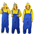 Super Dad Despicable Me Minions 3 kinds of expression pajamas Sleepwear Cosplay Party Dress adult Onesies Minions jumpsuit