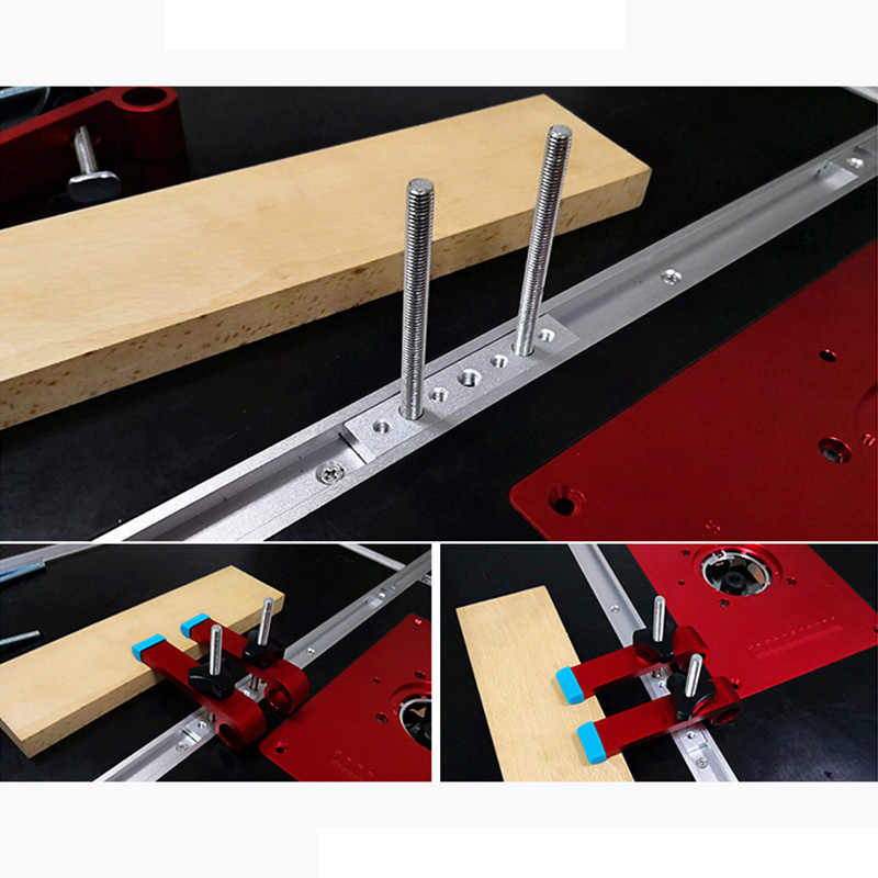 Universele Vastklemmen Blokken Klemmen Houtbewerking Gezamenlijke Hand Tool Timmerwerk T Chute TN88