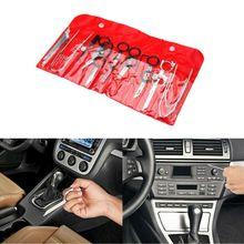 1 Set 20pcs Car Radio Audio Removal Install Key Kit Stereo Dash CD Player Tool Automobile Accessories