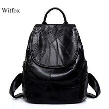 Schaffell leder rucksack für frauen luxus echtem leder damen taschen große kapazität handy tasche buch shell für schule