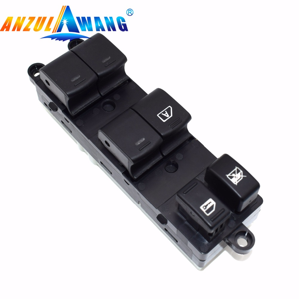 ANZULWANG Electric Power Window Master Control Switch For Nissan Pathfinder 2005-2008 25401-ZP40B 25401ZP40B 25401 ZP40B(China)