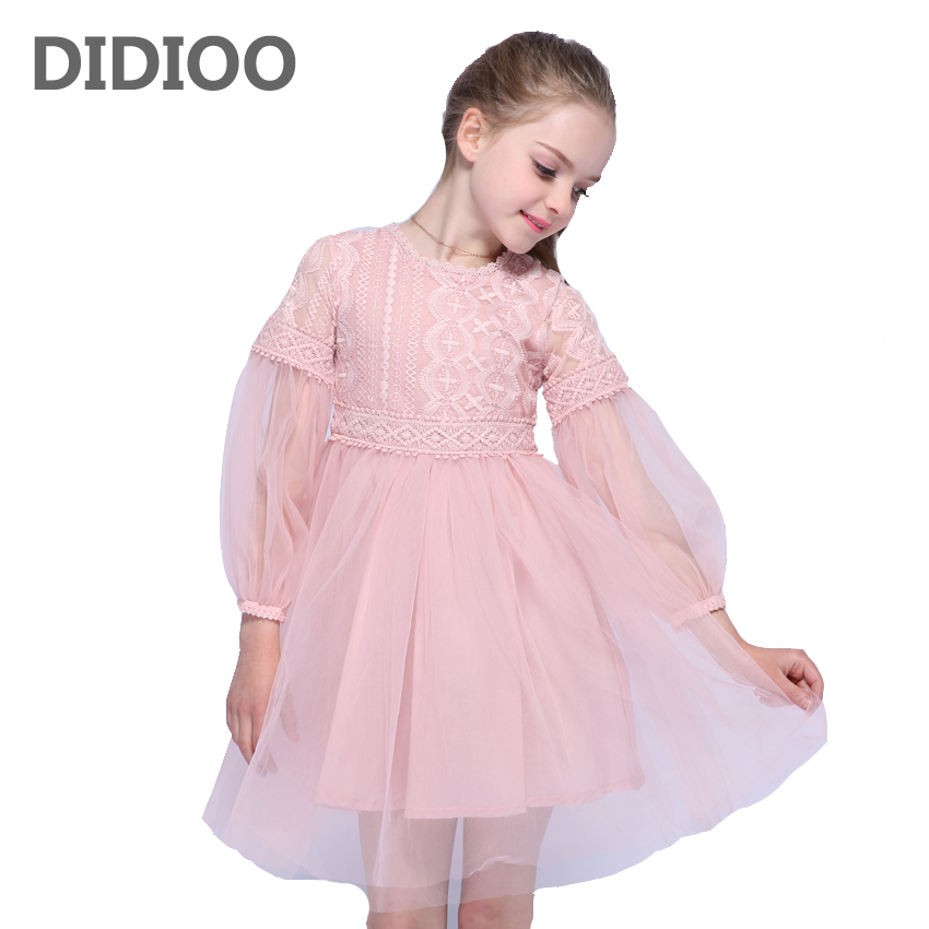 Princess Wedding Dresses For Flower Girls Ball Gowns Puff Sleeve Tulle Party Dress Summer Autumn Lace Dress Girls School Vestido kb 200 mini wireless bluetooth v2 0 speaker w hands free fm tf usb 3 5mm black blue