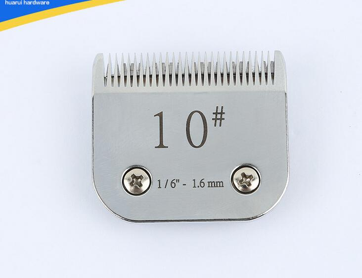 professional pet clipper blade 10# Compatible with Oster, Andis, Conair, Thrive Detachable A5 image
