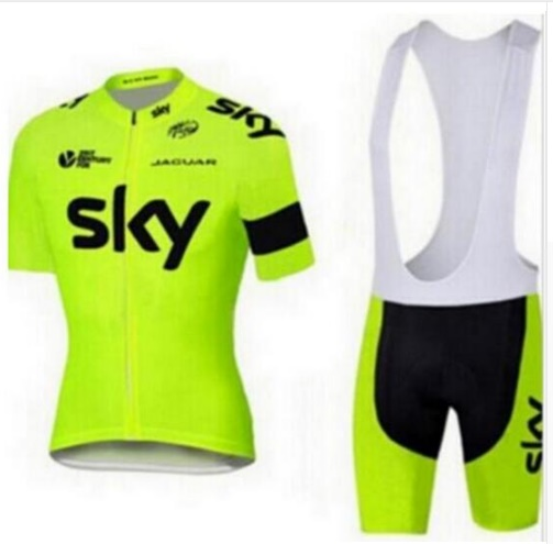2017 Sky Pro Team Polyester Breathable Cycling Jersey Summer Mtb Bicycle Clothing Ropa Maillot Ciclismo Bike Clothes Sets veobike 2018 pro team summer big cycling set mtb bike clothing racing bicycle clothes maillot ropa ciclismo cycling jersey sets